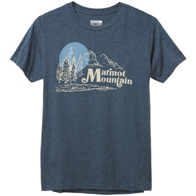 Marmot Redpoint Tee SS Men, navy heather